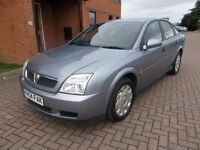 VAUXHALL VECTRA 1.8 LS (2005) in SILVER, FULL SERVICE HISTORY