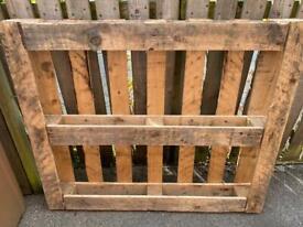 Large wooden pallet