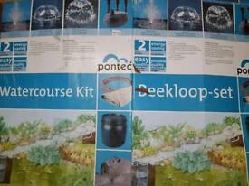 Pontec watercourse kit water feature kit
