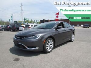 2015 Chrysler 200 C * LEATHER * NAV * PANO ROOF * CAM