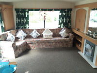 spacious 3 bedroom caravan for hire