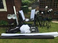 photography studio equipment SOLD