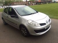 Renault Clio 1.2 Extreme 3 door hatchback 2008 just had a full service, long mot clean car