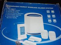 full alarm system boxed