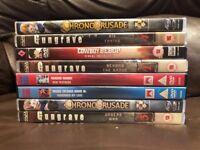 Collection af anime dvds