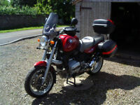 BMW r850r;1997;includes BMW panniers&Givi Blade topbox. Immaculate.