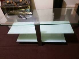 Tv cabinet glass