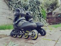 Inline skates - 8.5 UK SIZE - quick sale - very good quality - FREE LOCAL DELIVERY!