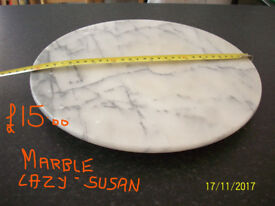 reduced to £12.MARBLE LAZY SUSAN