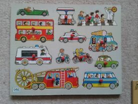 Inset jigsaws (£1 each or all ten for £5)