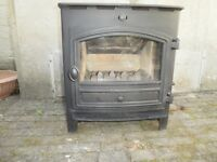 Woodburner. Hunter Herald Inset stove