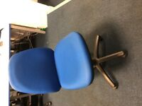 23 OFFICE CHAIRS - BLUE