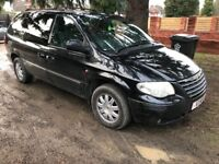 Chrysler Grand Voyager LTD XS CRDA Petrol with Gas Conversion Private Plate Included
