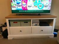 2 drawer TV unit - perfect condition RRP £239.99 TV STAND
