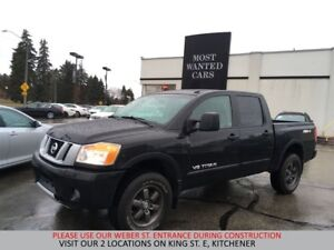 2015 Nissan Titan PRO-4X 5.6L V8 | NAVIGATION | CAMERA | SUNROOF
