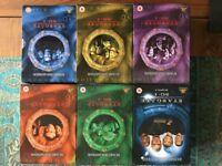 Stargate SG-1 DVD Box Sets Seasons 1 - 6