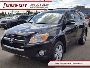2011 Toyota RAV4 Limited | 4x4 | PST PAID - Heated Seats, Blueto