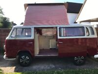 Unique VW 1972 body/ engine like new tax free iinvestment inspiring iconic camper owned 19 yrs