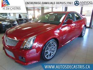 2009 Cadillac CTS-V 3543 KMS, NAVI, CUIR, TOIT OUVRANT