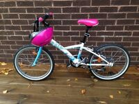 Girls btwin bike 20""