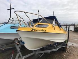 Shetland Sheltie 17ft Fishing Boat & 60hp Mariner efi Fourstroke