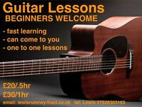 Guitar Lessons in Edinburgh (one to one tuition)