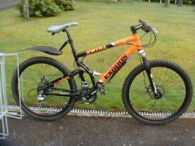 All terrain Mountain Bike 24-speed