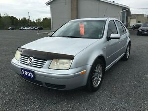 2003 Volkswagen Jetta Wolfsburg Ed 1.8L 5sp Kingston Kingston Area image 3