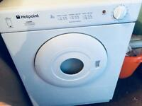 Mini hotpoint 3kg dryer