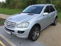 LHD LEFT HAND DRIVE MERCEDES ML320 CDI 4X4 AUTOMATIC SAT NAV IMMACULATE WARRANTY PART EXCHANGE