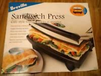 Brand New Breville Sandwich Press