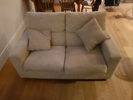 Two seat John Lewis sofa. Excellent condition.