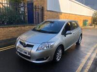 TOYOTA AURIS 1.6 T3 VVT-I 5D 122 BHP WITH FULL SERVICE HISTROY AND MOT KEY LESS START WITH 1 OWNER
