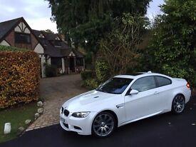 BMW E92 M3, 335I TWIN TURBO 410BHP, CONVERSION, MINERAL WHITE, PART EXCHANGE ?