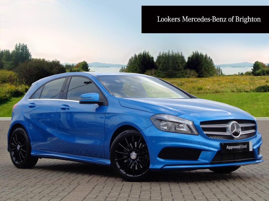 mercedes benz a class a220 cdi blueefficiency amg sport blue 2015 03 19 in portslade east. Black Bedroom Furniture Sets. Home Design Ideas