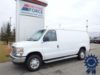 White 2013 Ford E250 Cargo Van For Sale - 7,392 KMs - RWD