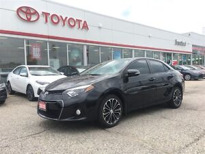 2015 Toyota Corolla S, Push Start, Proxy Entry, One Owner, Trade