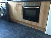 Kitchen units and worktops (used)