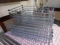 8 ikea wire baskets