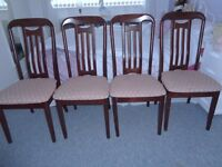 ****FINAL REDUCTION****JOHN COYLE EXTENDABLE TABLE & 4 CHAIRS.