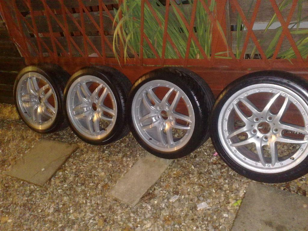 Genuine 18 Quot Bmw Style 71 E46 Clubsport Alloy Wheels