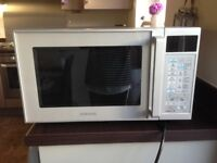 Samsung combi microwave. Grill, oven, microwave, browner.