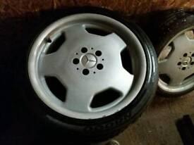 "Mercedes Amg 18"" alloy wheels 5x112 Volkswagen mk5 golf T4 Audi A3"