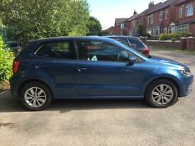 Volkswagen polo Blue one lady owner