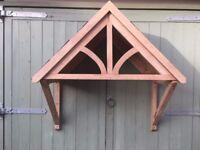 Oak Door Canopy Porch Slate Roof