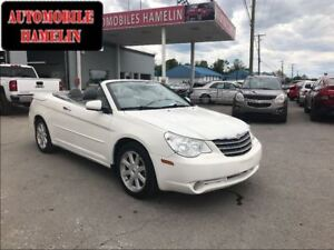 2008 Chrysler Sebring limited convertible toit dure gps cuir mag