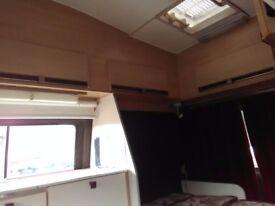 Transit van converted into mobile home, diesel, LOW MILEAGE.