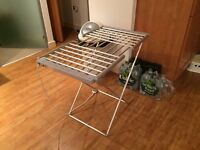 Electric Extendable Heated Folding Clothes Horse Airer Dryer