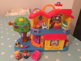 Interactive activity playhouse