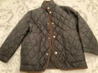 Boys quilted black jacket by Brooks Brothers size XS (4-6y)